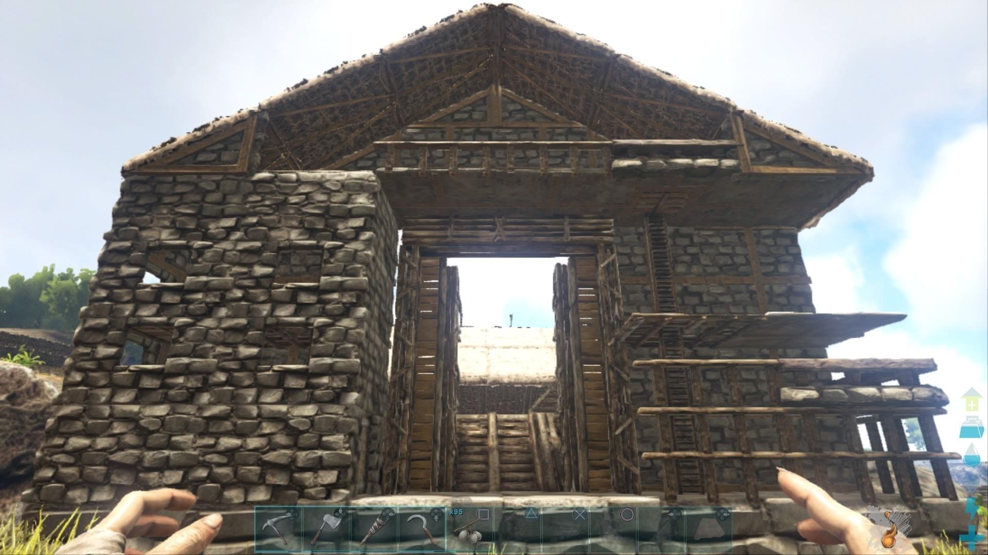 コツ Ark 建築